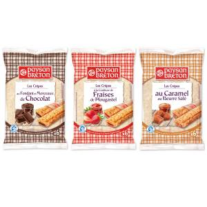 Bon et coupon de réduction Crêpes fourrées Paysan Breton x1 Paysan Breton