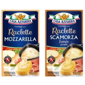Bon et coupon de réduction Fromages pour Raclette 200 g X2 Casa Azzurra Casa Azzurra