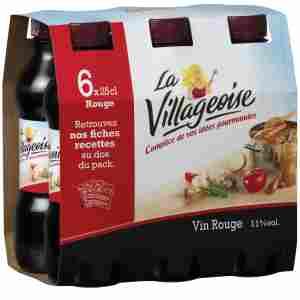 Bon et coupon de réduction La Villageoise Cuisine & Saveurs 6x25cl Rouge La Villageoise