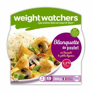 Gamme Weight Watchers rayon épicerie Weight Watchers Raynal