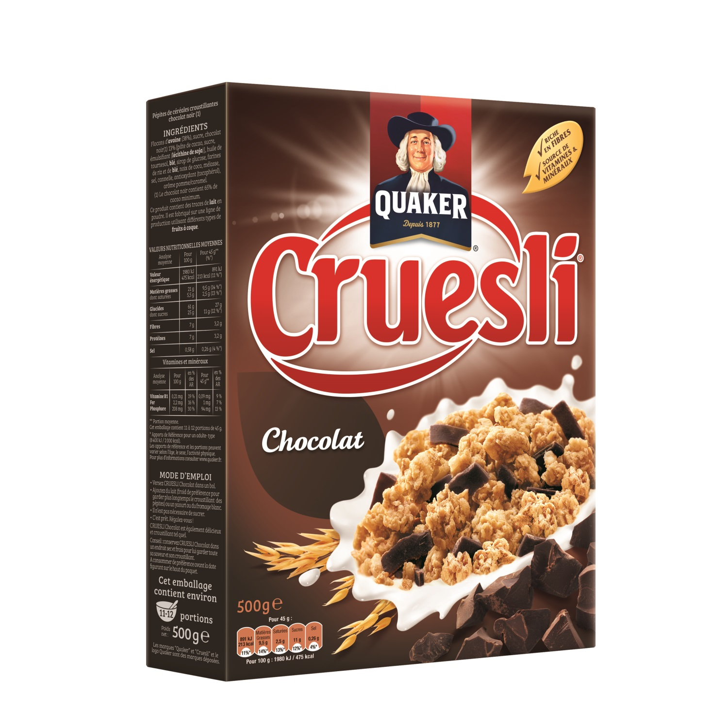 Bon et coupon de réduction Quaker Cruesli QUAKER