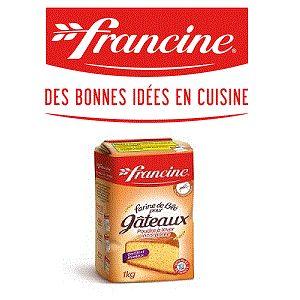 Bon et coupon de réduction Farine pour Gâteaux Francine FRANCINE