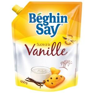 Béghin Say Doypack Sucre à la Vanille  Béghin Say