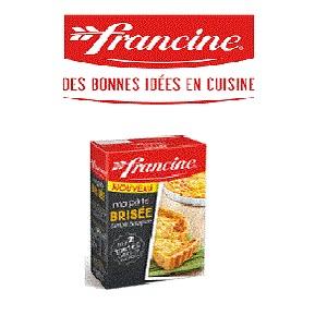 Bon et coupon de réduction préparation Ma Pâte Brisée Francine FRANCINE