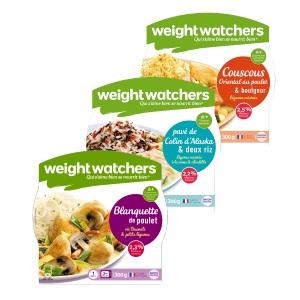 Plats cuisinés individuels Weight Watchers® rayon épicerie Weight Watchers Raynal