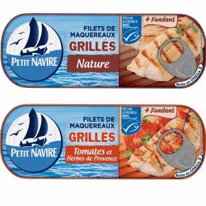 Bon et coupon de réduction Maquereaux Petit Navire PETIT NAVIRE
