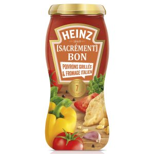 Bon et coupon de réduction Heinz [Sacrément] Bon Poivrons Grillés et Fromage italien HEINZ SACREMENT BON