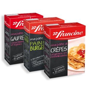 Bon et coupon de réduction Préparations Francine FRANCINE