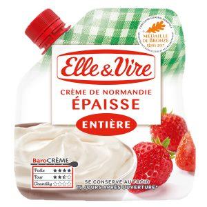Bon et coupon de réduction Crème épaisse en poche de Normandie Elle & Vire ELLE&VIRE