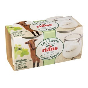 Yaourt Rians au lait de chèvre x2 RIANS