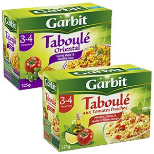 Bon et coupon de réduction Taboulé Garbit Garbit