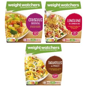 Plats cuisinés rayon frais Weight Watchers Marie