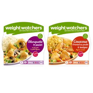 Plats cuisinés rayon épicerie Weight Watchers Raynal