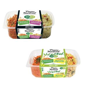 Bon et coupon de réduction Salades Snacking (avec fourchette) - Pierre Martinet MARTINET