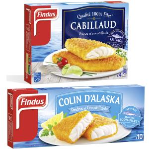 Gamme poisson Panés Findus x2 Findus