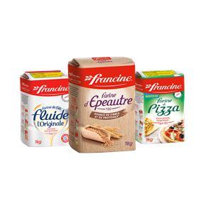 Bon et coupon de réduction Nouveauté Francine : la farine d'Epeautre FRANCINE