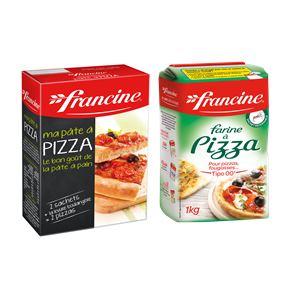 Préparation Ma Pâte à Pizza ou Farine à Pizza Francine FRANCINE