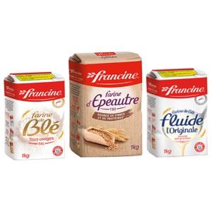 Farine d'épeautre Francine (en sachet 1kg) FRANCINE