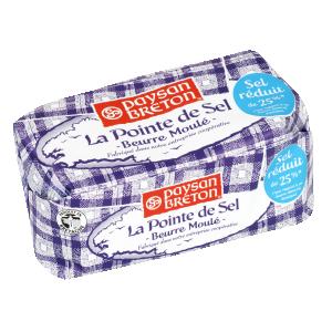 Bon et coupon de réduction Beurre Pointe de sel Paysan Breton