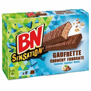 Bon et coupon de réduction BN Sensation Gaufrette BN