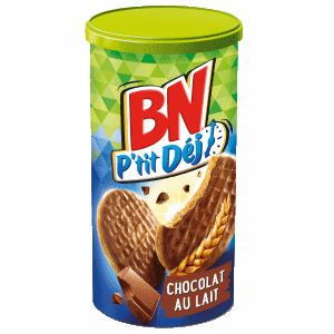 Bon et coupon de réduction BN P'tit Déj Chocolat x2 BN