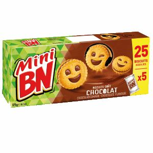 Bon et coupon de réduction Mini Chocolat x5 - 175g BN