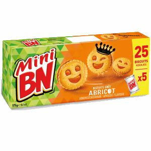 Bon et coupon de réduction Mini ABRICOT - 175g BN