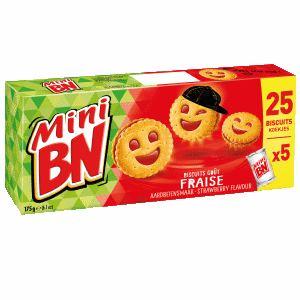 Bon et coupon de réduction Mini BN Fraise x2 BN