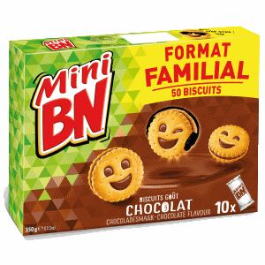 Bon et coupon de réduction Mini Chocolat x10 - 350g BN