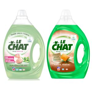 Le Chat Eco Efficacité 2L ou Le Chat Eco Sensitive 2L Le Chat